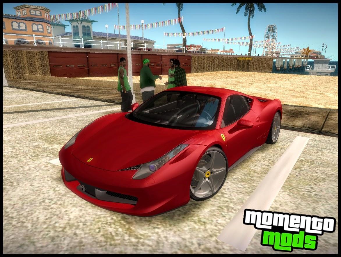 GTA SA - Ferrari 458 Italia 2010