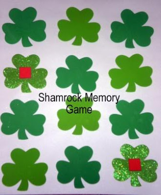 Shamrock memory game