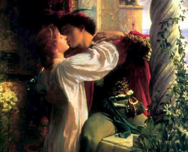 Ciuman mesra, Rome and Juliet