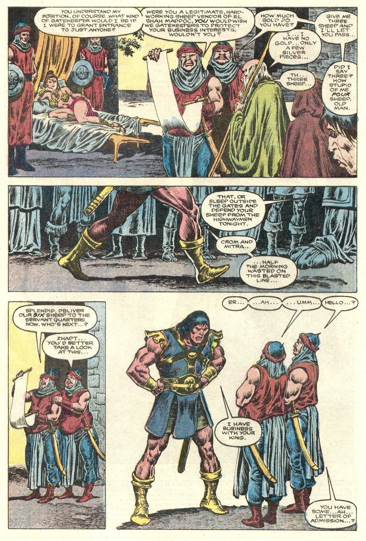 Conan the Barbarian (1970) Issue #181 #193 - English 3