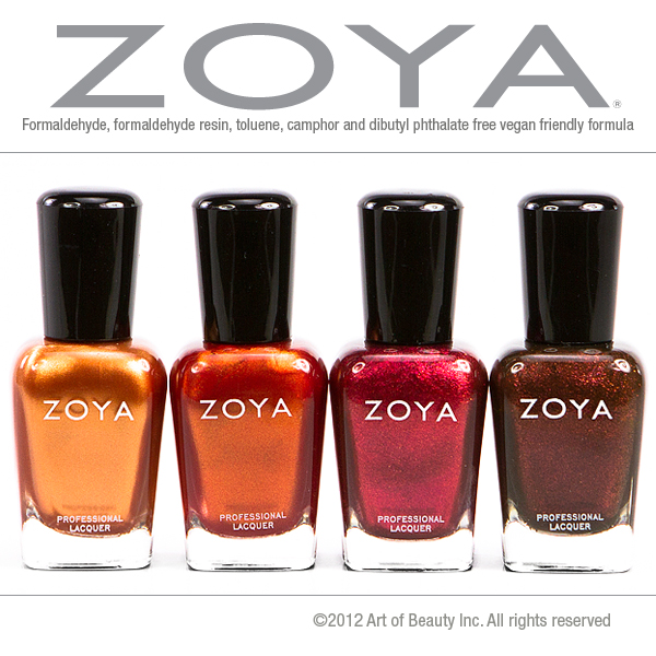 Zoya Nail Polish Blog: Embrace The Colors Of Autumn With