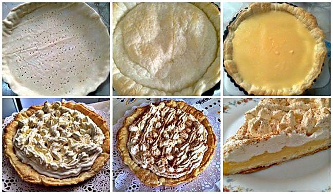 Preparación de la tarta de lima sin azúcar