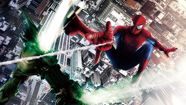 the amazing spider man vs green goblin 2014 fighting movie