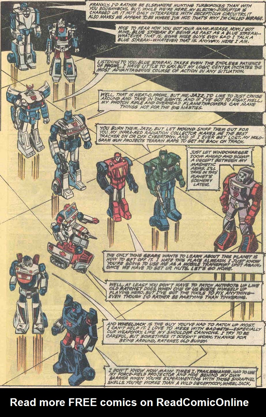 The Transformers (1984) #1 #80 - English 16