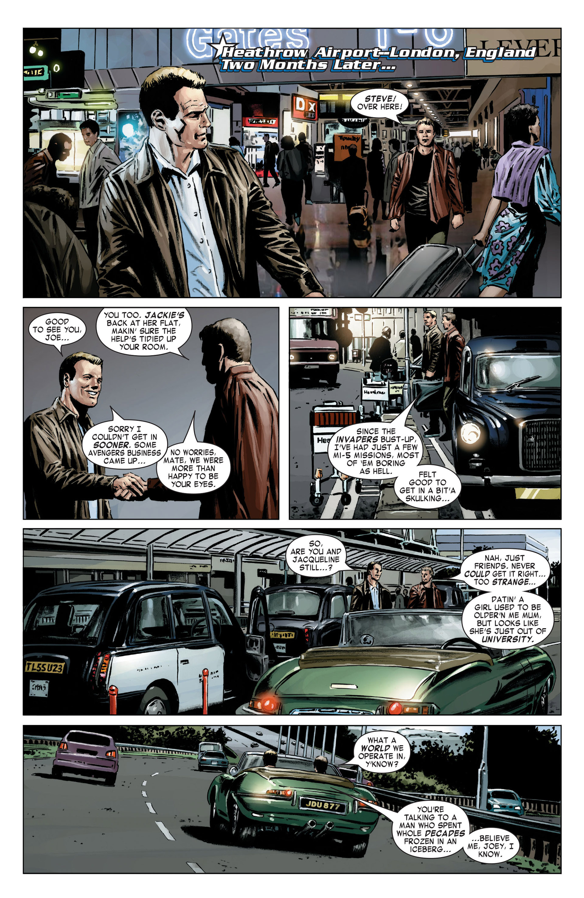 Captain America (2005) Issue #18 #18 - English 6