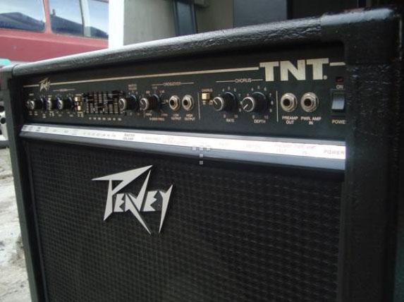 Jual Alat Musik Bekas Jual Ampli Bass Peavey TNT 115 USA