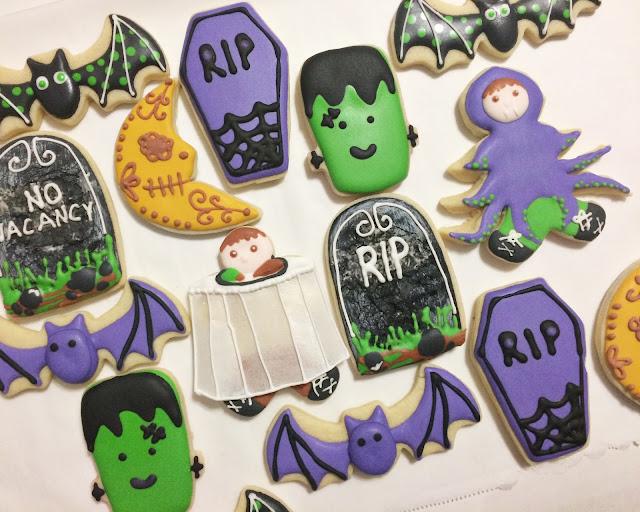Sweet Jenny Belle - Halloween Cookies