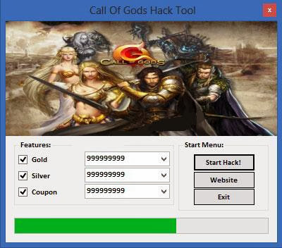 Call Of Gods Hack