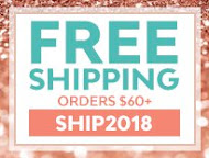 FREE Shipping (order over $60)