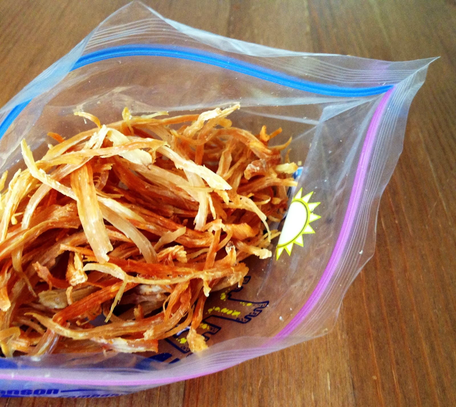 Shredded Chicken Crisps