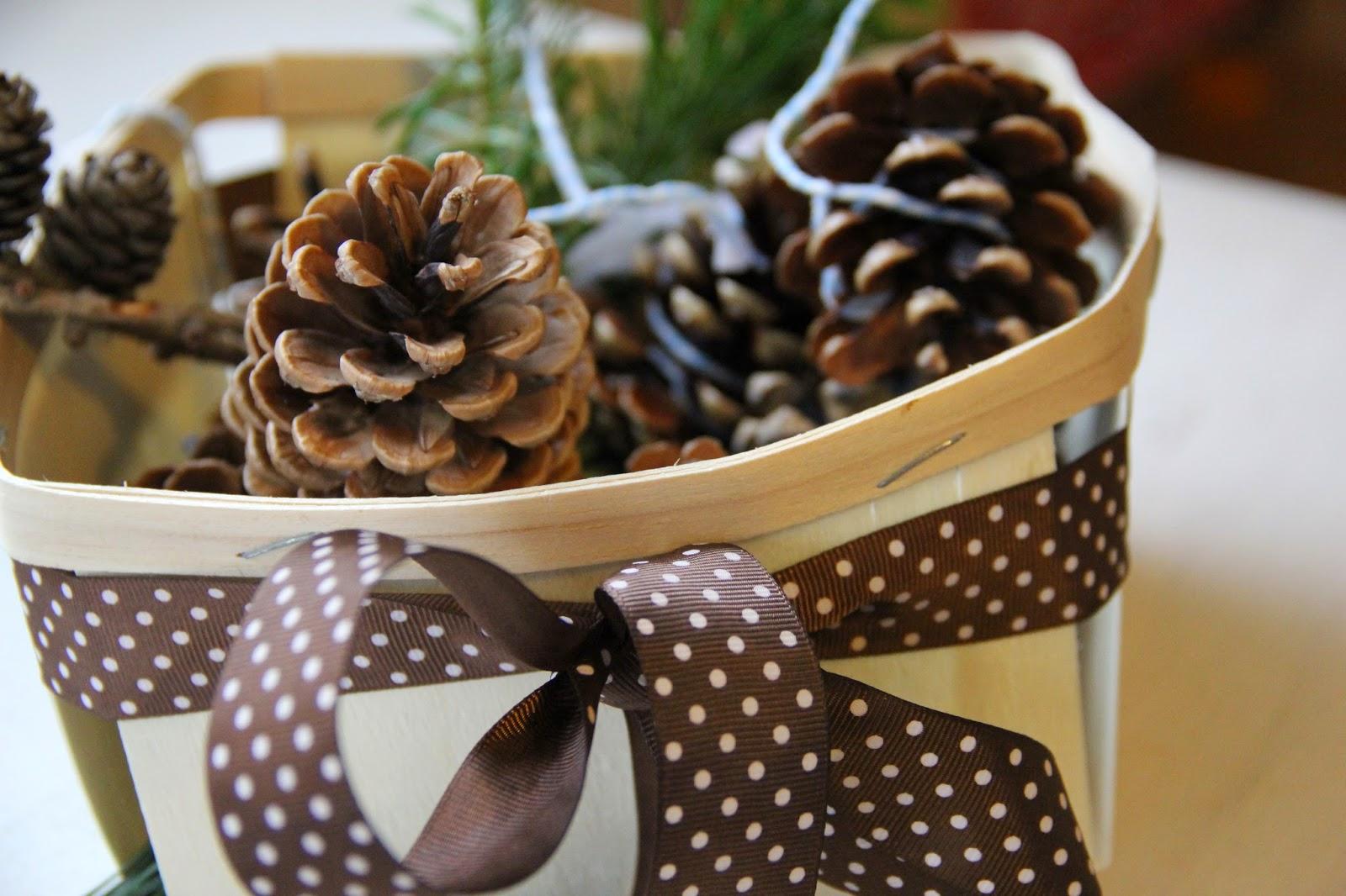 familienjahr selbstgemachte weihnachtsgeschenke kaminanz nder zapfen. Black Bedroom Furniture Sets. Home Design Ideas