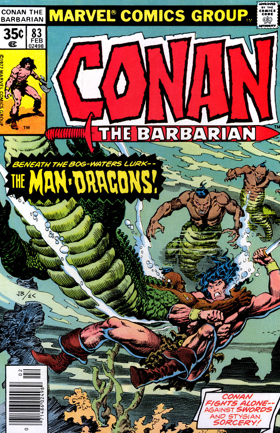 Conan the Barbarian (1970) Issue #83 #95 - English 1