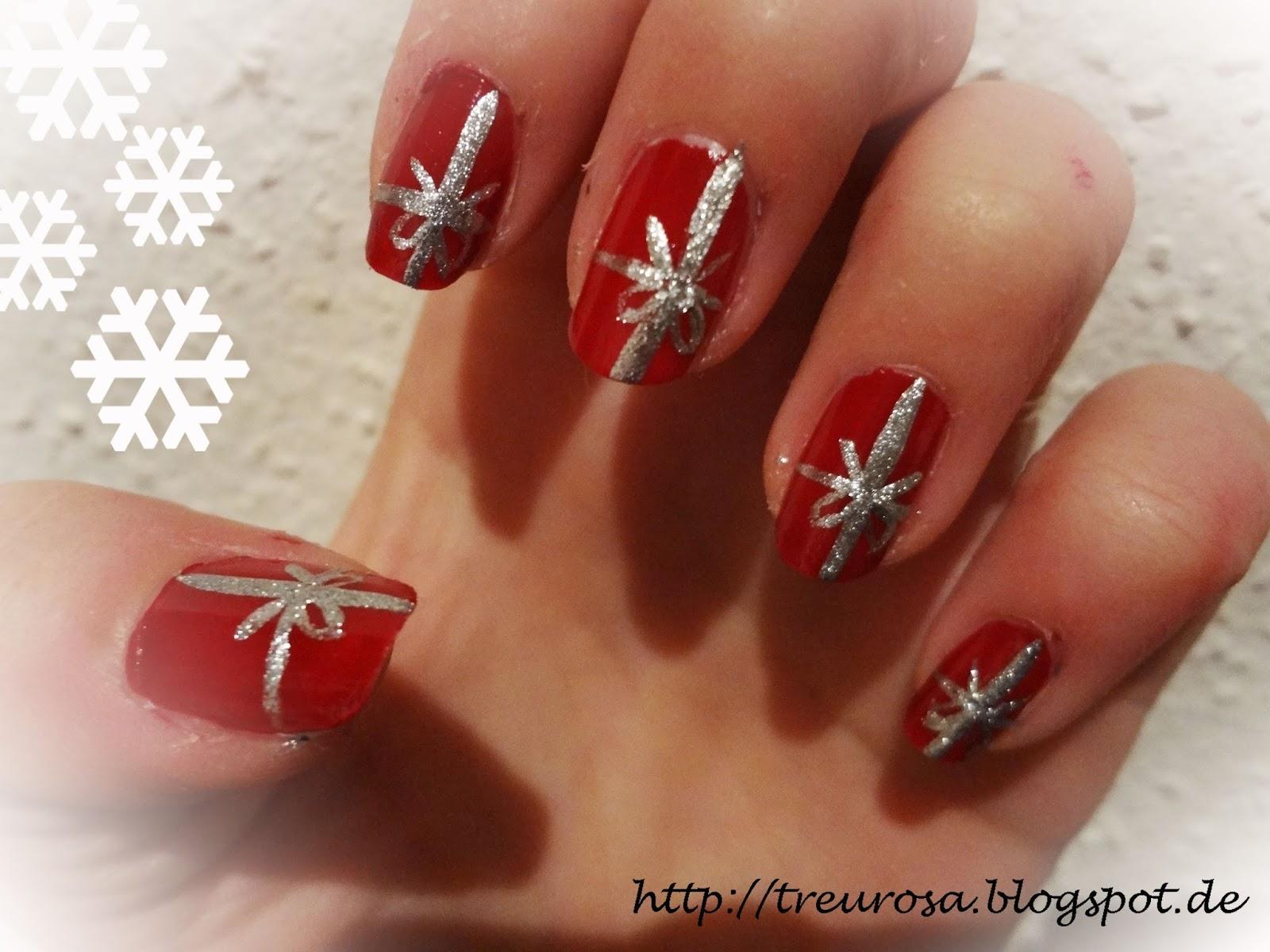 Geräumig Weihnachts Nägel Rot Referenz Von Treurosa Weihnachtszeit Naildesign Geschenk