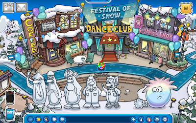 Club Penguin Festival of Snow 2015 Party Cheats