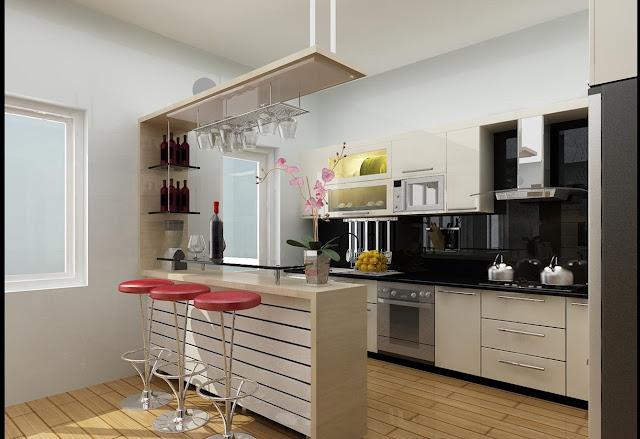 tủ bếp mfc 2