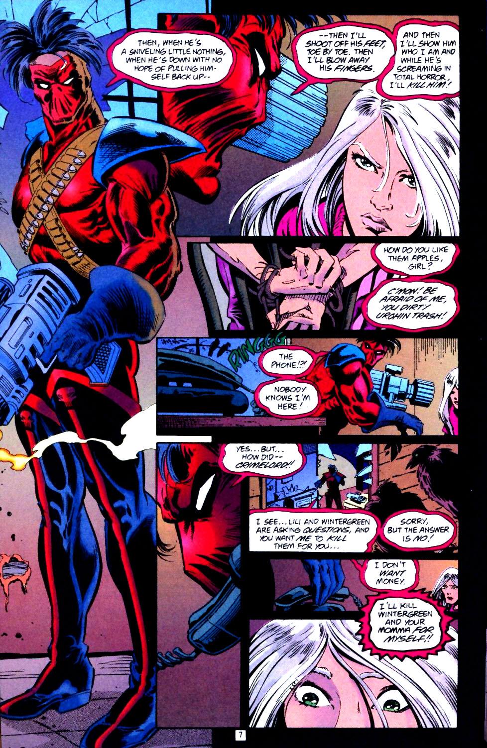 Deathstroke (1991) Issue #43 #48 - English 8