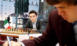 Échecs à Bilbao : Magnus Carlsen bat Caruana dans les départages - photo site officiel