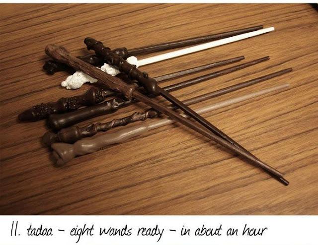 Как сделать настоящую палочку гарри поттера