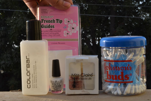 French Manicure Tutorial India