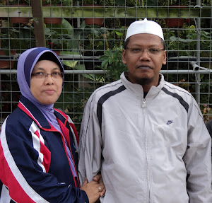 Beloved Mama and Abah