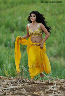 Tapsee Hot Navel and Cleavage show