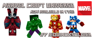 Marvel Craft Universe Mod para Minecraft 1.7.2/1.7.10