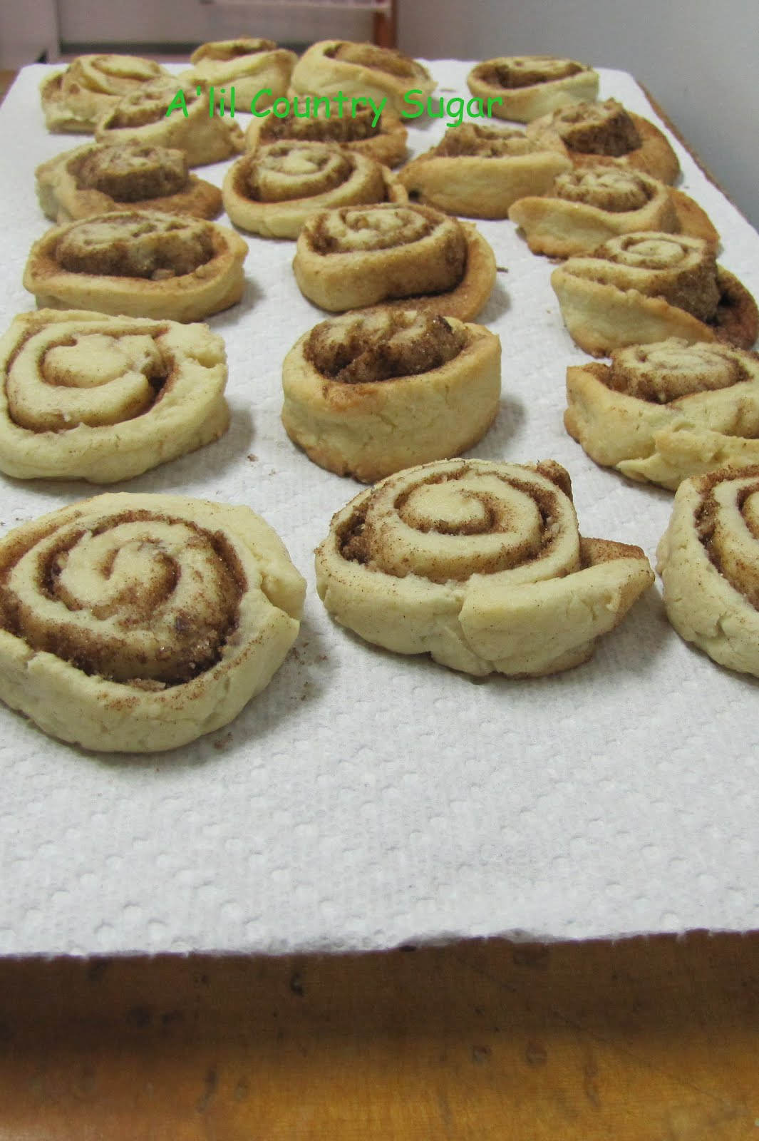 lil Country Sugar: Grand Champion: Cinnamon Roll Sugar Cookies