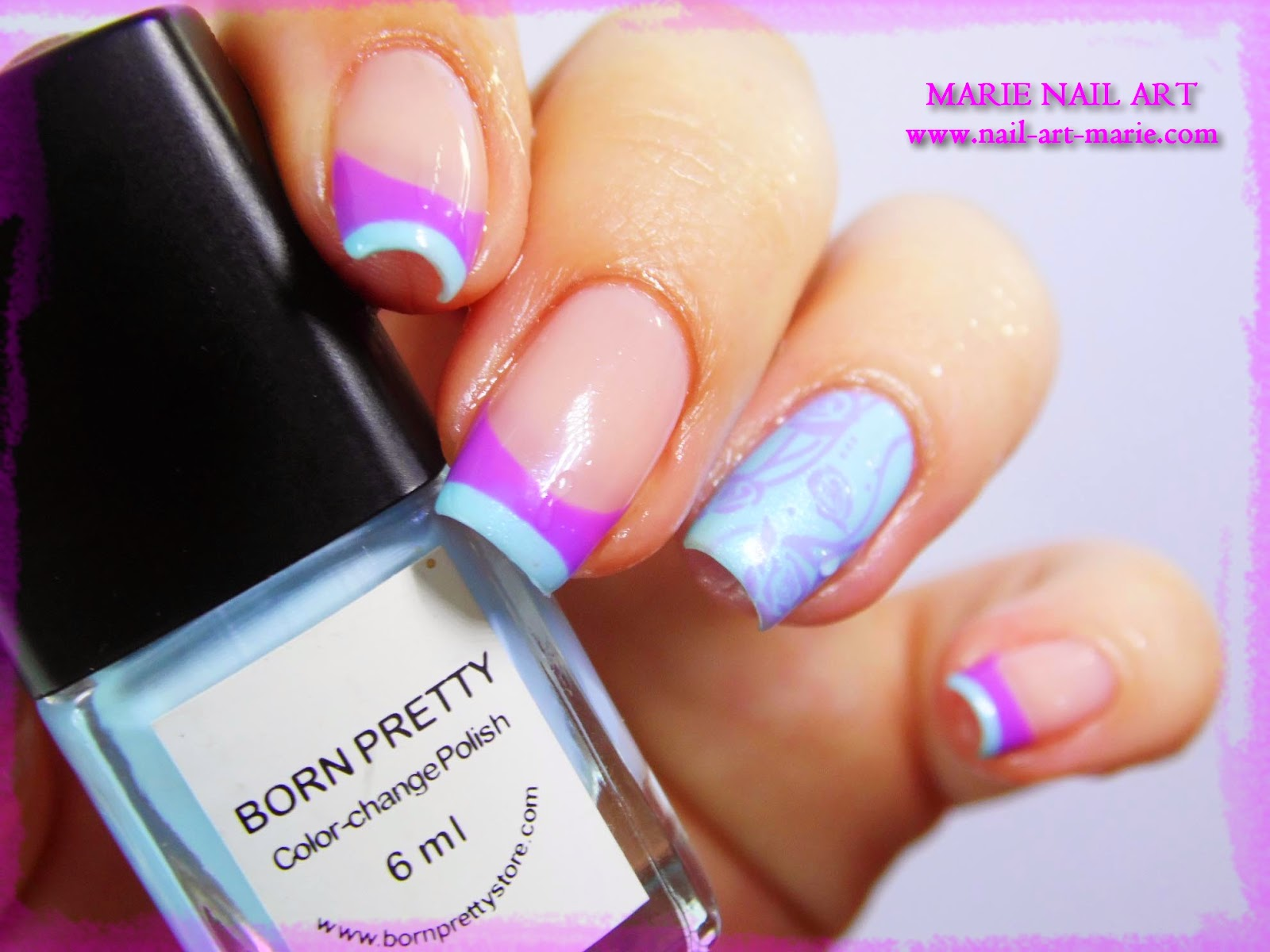 Nail Art Double French Thermique3