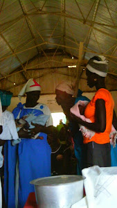Baptism in Akobo