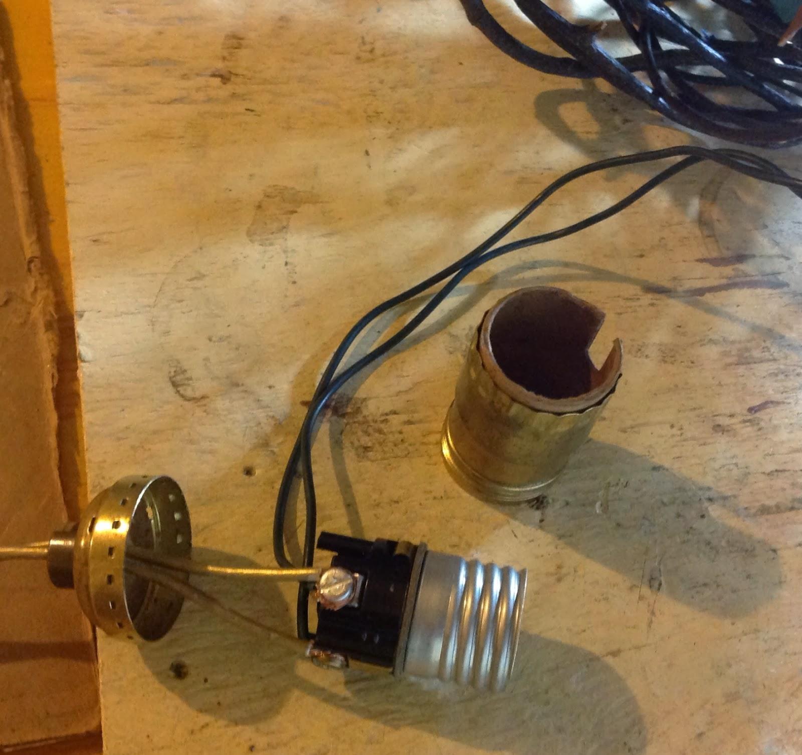 Follywood And Vine Diy Globe Light Build Rebuild Wiring Lights Together Both