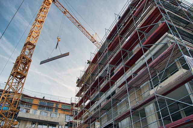 Baustelle Wohnhaus, Bernauer Straße, zwischen Brunnenstraße und Ruppiner Straße, 10115 Berlin 31.10.2013