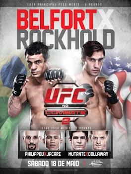 UFC no Combate 2: Belfort vs. Rockhold  HDTV