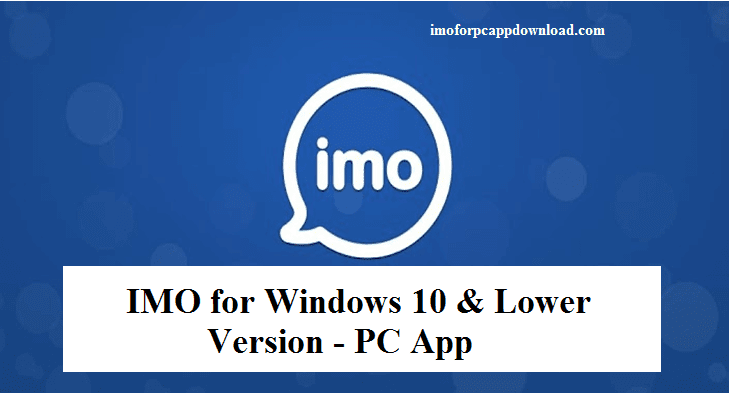 download imo messenger for windows xp