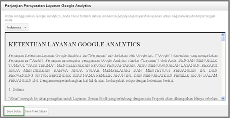Daftar Google Anlytic