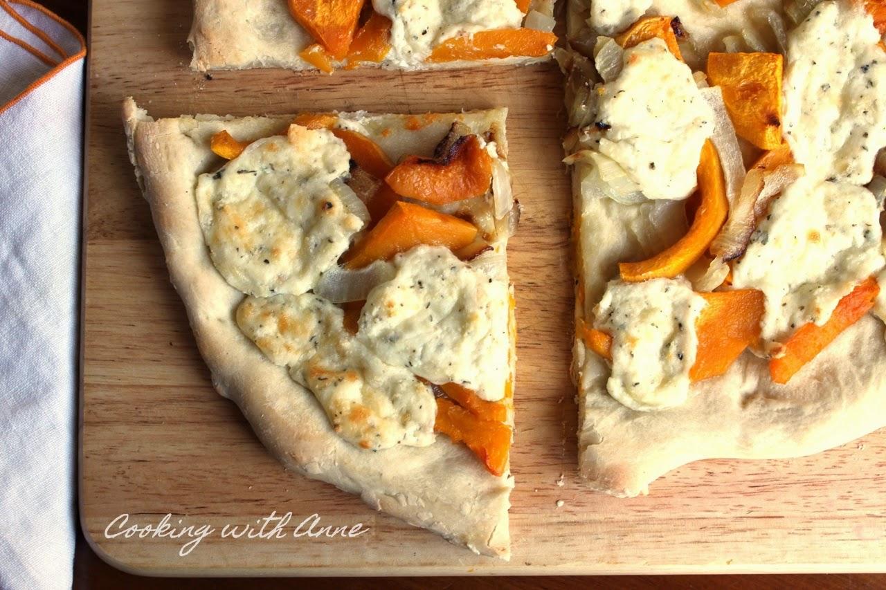 Butternut Squash and Ricotta Pizza