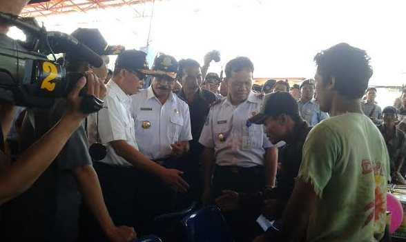 Menteri Perhubungan 15 Juli 2015 Banjarmasin