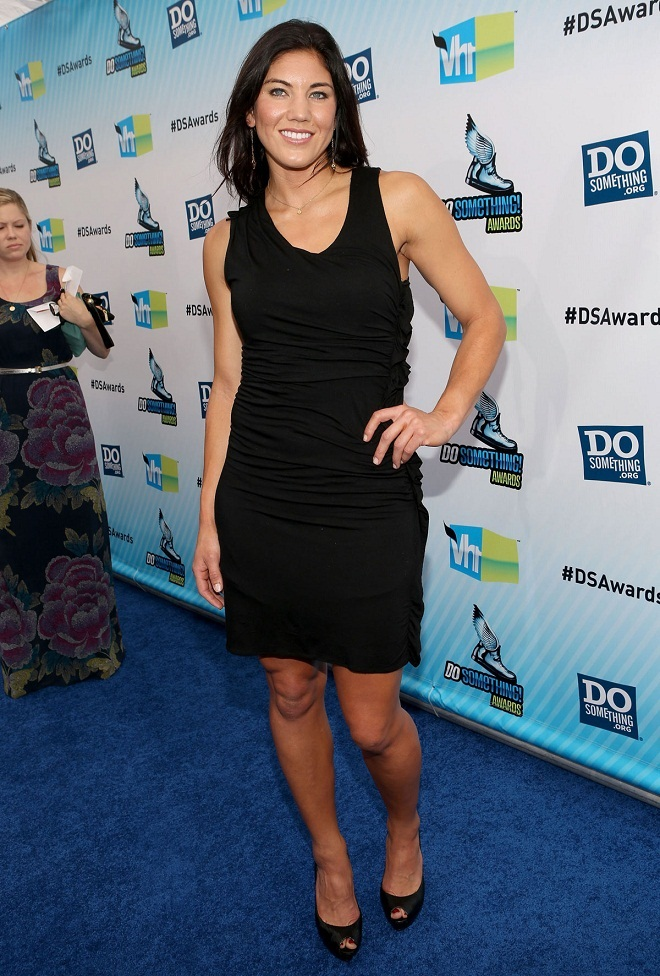 Hope Solo at Do Something Awards in Santa Monica