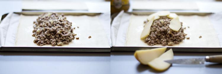 receta de pastel de carne y queso