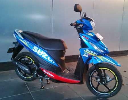 perbedaan Suzuki Address versi MotoGP dengan standar