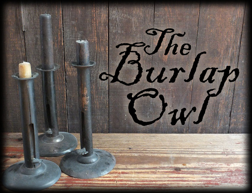 The Burlap Owl Primitives