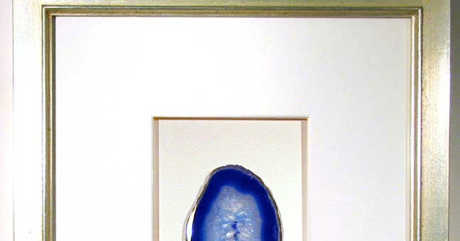 inspiration framed agate slices dans le lakehouse