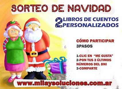 """SORTEO EN FACEBOOK """"Cuentos MilaySoluciones"""""""
