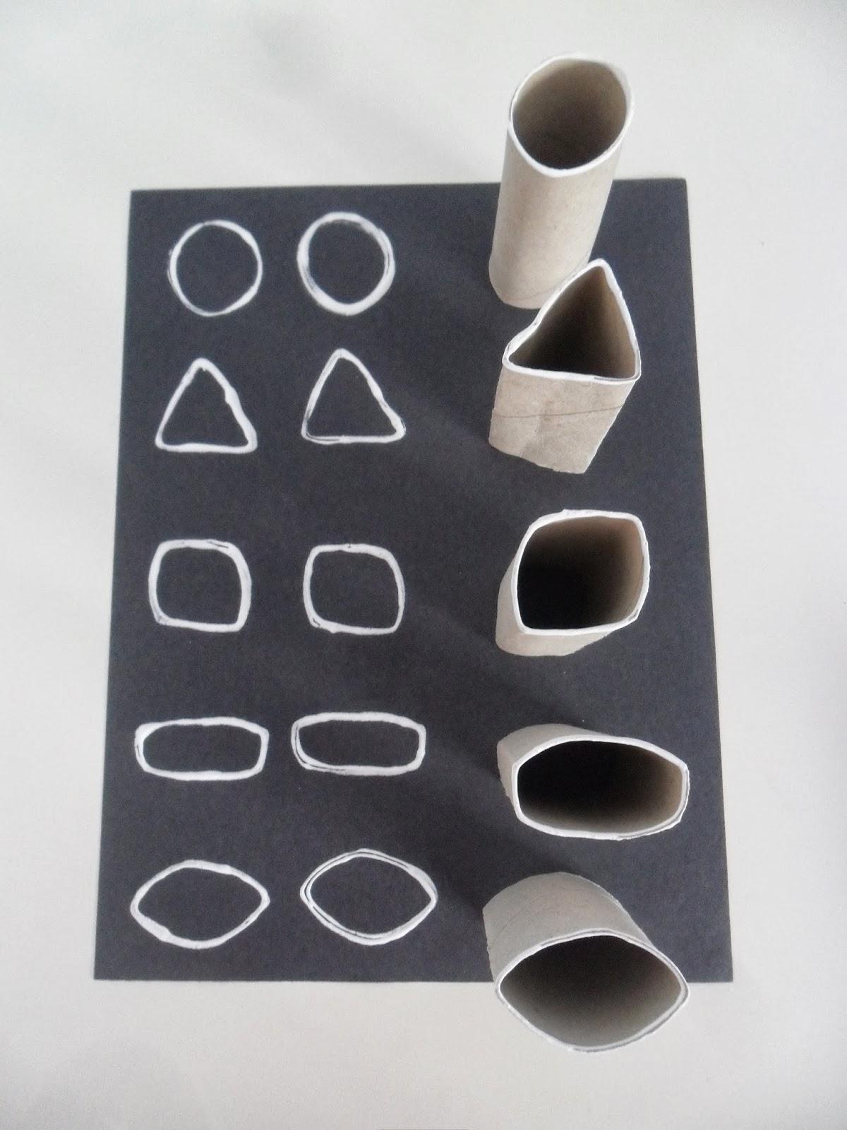 Materiales para educaci n infantil pintar con rollos de - Materiales para pintar ...