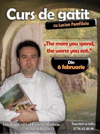 Curs de gătit la Centrul Creștin Aletheia Timișoara - Promo Sponsorizat