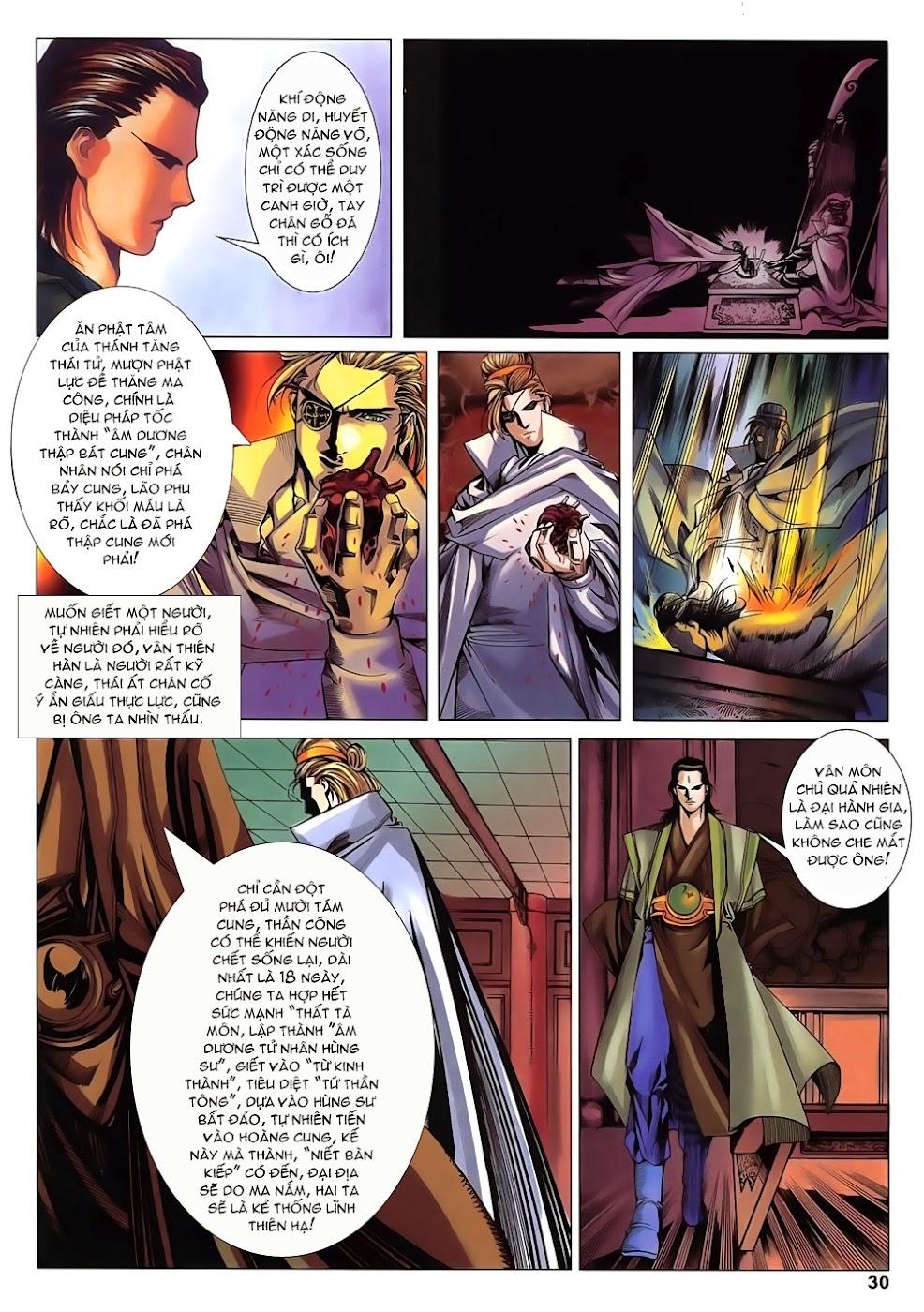 Lục Đạo Thiên Thư chap 14 - Trang 30