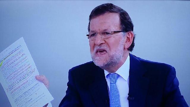 Rajoy pierda los nervios por la corrupción del PP