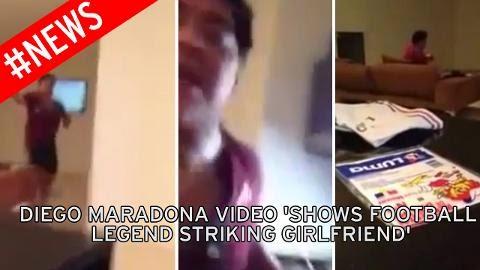 Video Diego Maradona Memukul Seorang Wanita