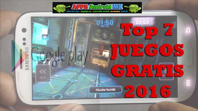 TOP 7 juegos gratis para Android de 2016