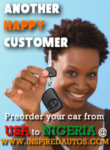Preoder your Cars from the US to Nigeria