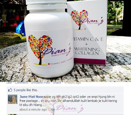 Dianz vitamin C dan E Whitening Collagen 6000mg